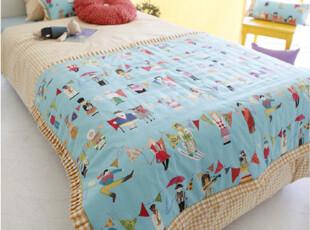 『韩国网站代购』欢乐世界 全球儿童大party可爱儿童房床品套件,床品,