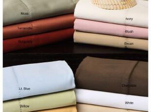 【纽约下城公园】400线棉加丝床单四件套(多色可选),床品,