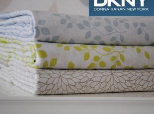 美国大牌 DKNY原单 床单 100%棉 60S贡缎 活性印花 150床/180床用,床品,