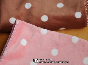 出口日本原单 超柔软水玉波点 枕套 2色选,床品,