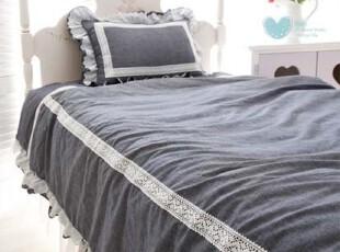 『韩国网站代购』静享优雅情怀 温暖蕾丝点缀床品两件套,床品,