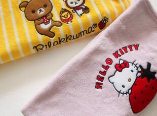 特价 外贸 超柔纯棉法兰绒+珊瑚绒卡通刺绣 婴儿抱毯 包被 空调毯,床品,