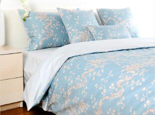 特价包邮!外贸纯棉四件套 全棉贡缎床上用品 家纺套件1.8/1.5m床,床品,