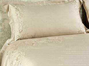 家纺原单 茜茜公主 床上用品 四件套 奢华天丝缎面绣花,床品,