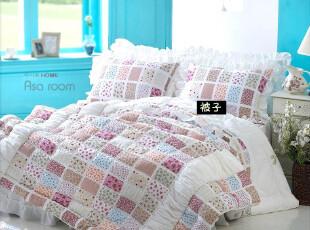 【Asa room】韩国进口床品 田园小碎花廣木棉被子被套四件套 c065,床品,