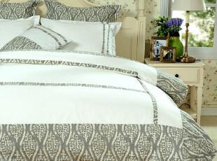 JF2848 出口荷兰  棉麻五件套 床上用品 外贸尾货 亲肤款,床品,