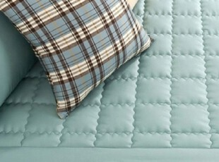 【Asa room】韩国进口床单 纯棉蓝色双人代购正品爬行垫 dc071,床品,