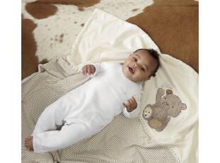 mothercare*小熊系列双层毯、儿童抱毯、盖被、毯子,床品,