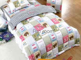 【Asa room】韩国进口代购床品 儿童可爱棒球纯棉被子套装 c699,床品,