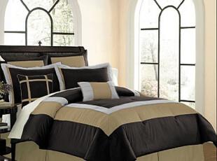 地中海·埃及棉贡缎床单床笠式床上用品七件套/多件套5款精典搭配,床品,