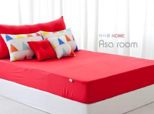 【Asa room】韩国进口床罩/纯棉/单卖窗口/简约/单色/红色/dc100,床品,