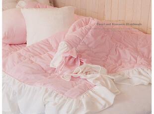 『韩国奢华定制』n1345 粉粉公主必备超细纤维毯子空调毯,床品,