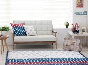 【Asa room】韩国进口代购地毯 时尚棉质爬行垫床单防滑垫dc186-n,床品,
