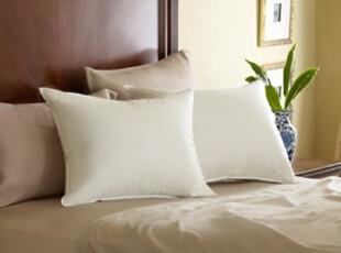 简单的奢华 现货 健康认证专利全棉超纯净鹅绒枕芯 低枕  限时9折,床品,