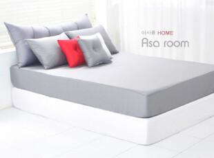 【Asa room】韩国进口床罩/单卖窗口/纯棉/简约/单色/灰色/dc118,床品,