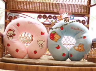 san-x rilakkuma轻松小熊日本正版2010官网同步新款 腰枕 U形枕,床品,