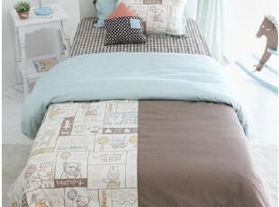 韩国正品代购 儿童可爱男孩床上用品三件套(定做),床品,