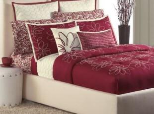 特价!美国代购正品KOHL'S素色床罩 床裙 床单 床笠床品四件套,床品,