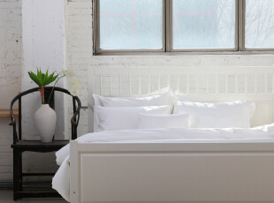 珍珠纯白顶级埃及棉床品四件套七件套 出口外贸 全棉贡缎床上用品,床品,