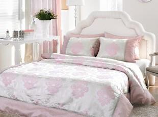 【Asa room】韩国进口代购床品 粉色高档加厚型被套四件套 c804-p,床品,