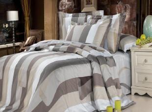 Rozene 特价1000根埃及棉贡缎床品全棉床单床笠式床上用品四件套,床品,