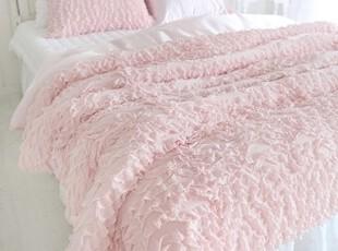 【Asa room】韩国进口代购床品高档加厚粉色被套三件套c951-p,床品,
