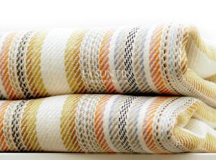 西西里岛阳光彩条 双人折叠 空调亚麻席子 纯亚麻凉席三件套 包邮,床品,