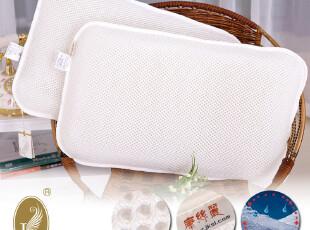 康丝丽 日本最流行 首款可水洗枕芯3D聚脂纤维护颈枕防螨透气枕头,床品,