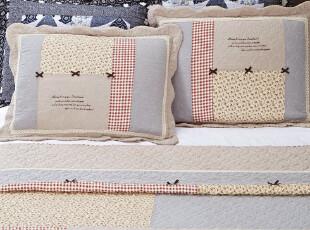 日本外贸 有机棉盖被三件套 可水洗绗缝工艺 2012新产品 日韩风,床品,