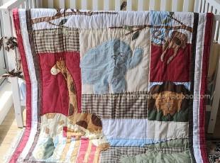 动物园~~手工绗缝被、童被、挂毯,床品,