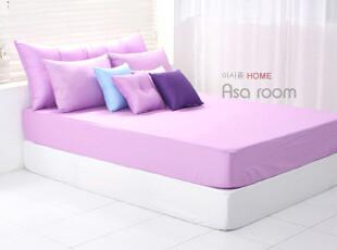 【Asa room】韩国进口床品 淡紫色时尚双人床罩纯棉代购正品dc106,床品,