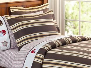 美国进口-美式家居STAR儿童单人被套套件 附送枕套,床品,