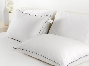 特价!超细纤维枕头芯 脊椎保健仿羽绒枕芯 羽丝绒 纯棉贡缎防钻荣,床品,