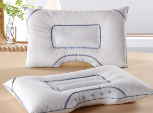 保健枕 中草枕头 半边磁疗枕头芯 护颈枕颈椎枕芯 特价,床品,