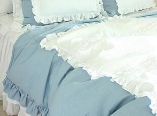 【Asa room】韩国进口代购床品 可爱花边高档被套三件套正品 c872,床品,