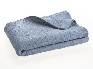 Harbor House 全棉绗绣盖被 床上用品 浅蓝色 100296 100297,床品,