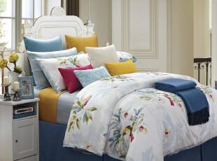 纯正埃及棉 印花四件套 床上用品  2012新款花型,床品,