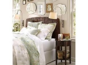 简单的奢华 清新佩斯利纯棉印花被套系列,床品,