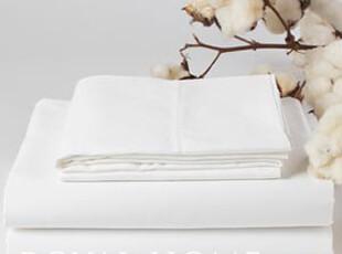 出口P&LO(RALPH.LAUREN)白色床单埃及棉80支全棉贡缎面料240*280,床品,