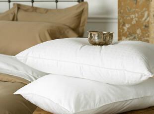 美国进口-Ralph Lauren 经典400TC 白鹅绒枕芯 枕套可拆洗 中厚型,床品,