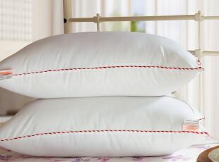 苏娜国际 新品包邮 舒眠护颈枕芯 颈椎保健睡眠 家纺枕头一对两只,床品,