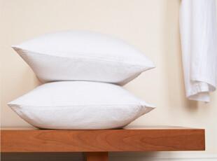 特价外贸出口枕头芯 纯棉贡缎脊椎 保健舒眠枕芯 羽丝绒贵妃枕头,床品,
