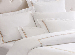 家纺 床上用品 高支高密 提花 包梗绣花 四件套全棉 一元换购枕头,床品,