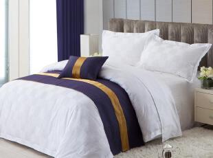 康尔馨 全棉贡缎 东方神韵 床上用品四件套1.8 床上四件套 纯棉,床品,