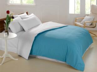 全国包邮 罗莱家纺 床上用品 床品套件 全棉素色四件套 正品特价,床品,