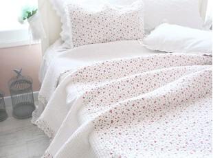 韩国进口直邮 田园小碎花衍缝床品四件套/床上用品  正品代购,床品,