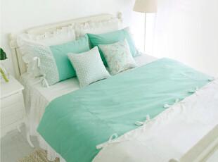 【Asa room】韩国进口代购床品 绿色田园风被套枕套三件套 c845,床品,