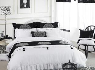 【Asa room】韩国床上用品 仿古进口被套床裙纯棉四件套代购 c506,床品,