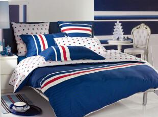 多喜爱家纺 床上用品 人气爆款 运动风潮 全棉斜纹三四件套 特价,床品,
