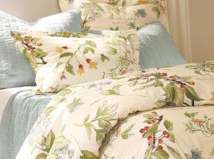 【纽约下城公园】 秘密花园清新有机棉被套(CD-B001) 现货,床品,